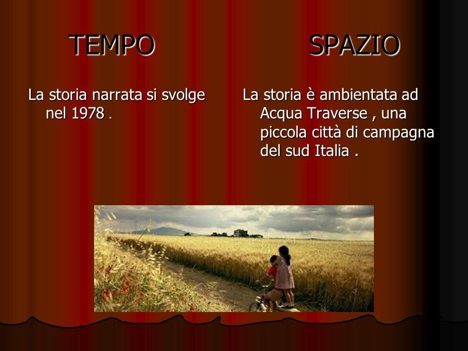 TEMPO SPAZIO La storia narrata si svolge nel 1978 .