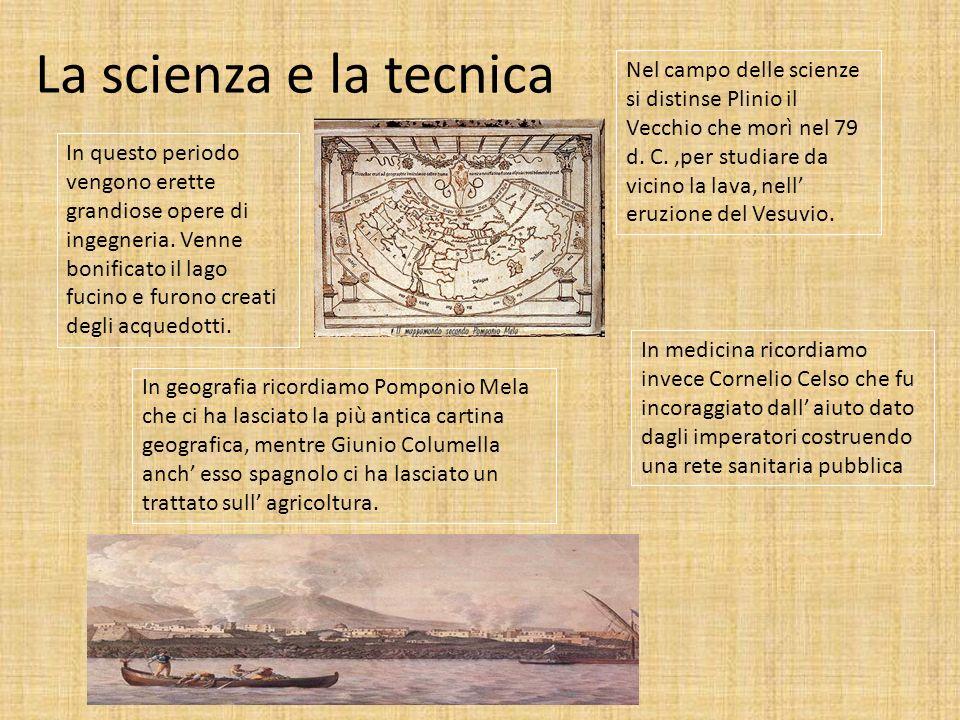 La scienza e la tecnica