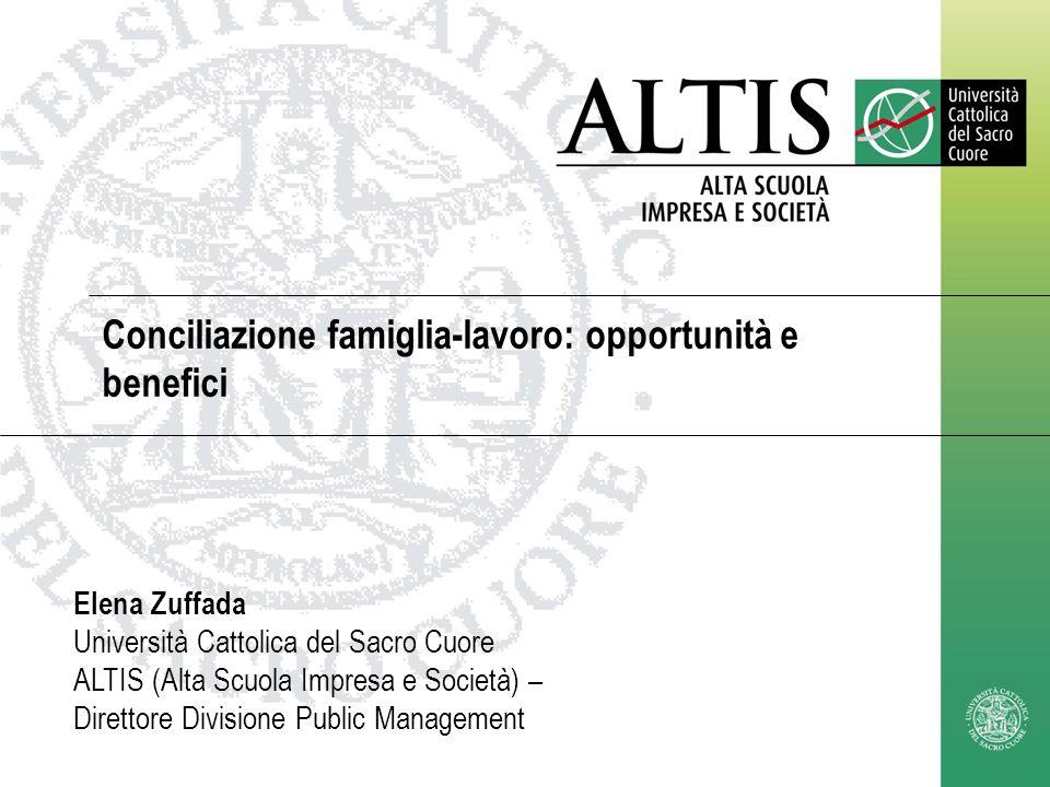 Conciliazione famiglia-lavoro: opportunità e benefici
