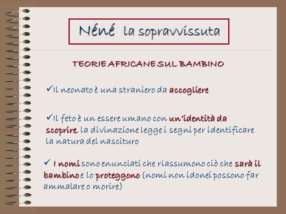 TEORIE AFRICANE SUL BAMBINO