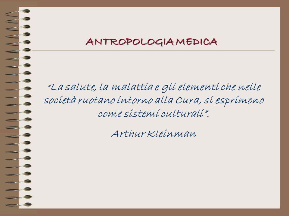 ANTROPOLOGIA MEDICA Arthur Kleinman