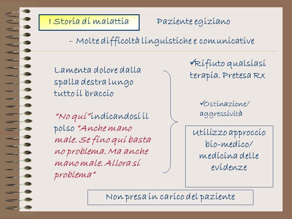 – Molte difficoltà linguistiche e comunicative