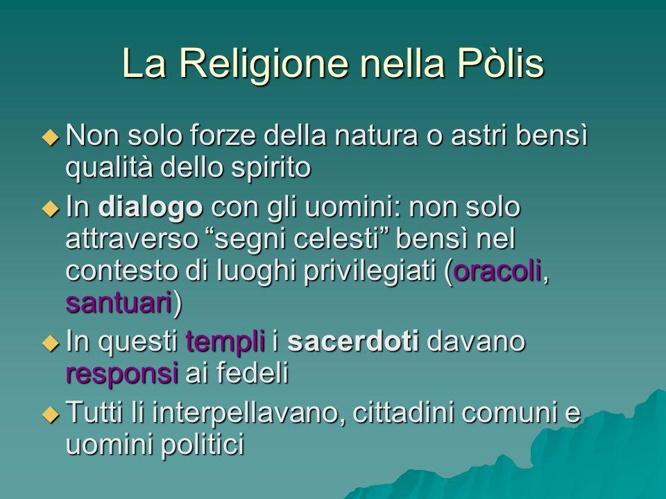 La Religione nella Pòlis