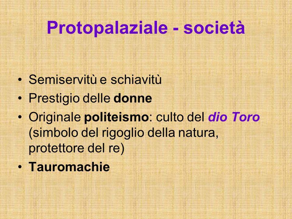 Protopalaziale - società
