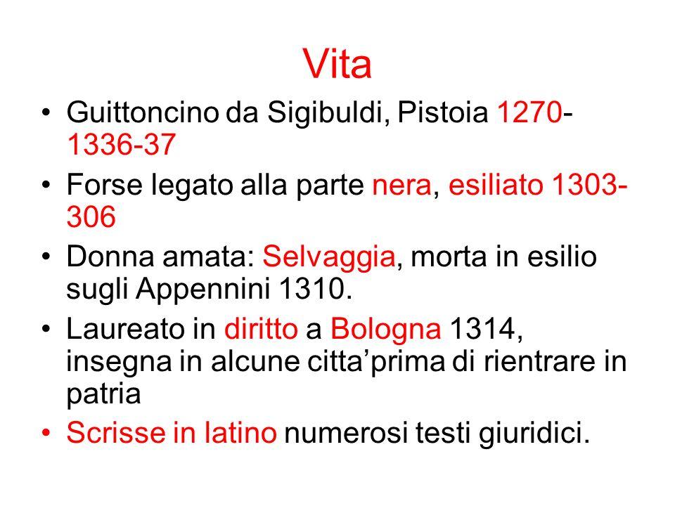 Vita Guittoncino da Sigibuldi, Pistoia 1270-1336-37