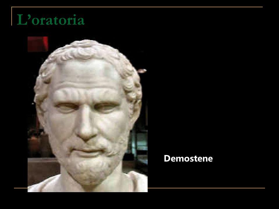L'oratoria Demostene