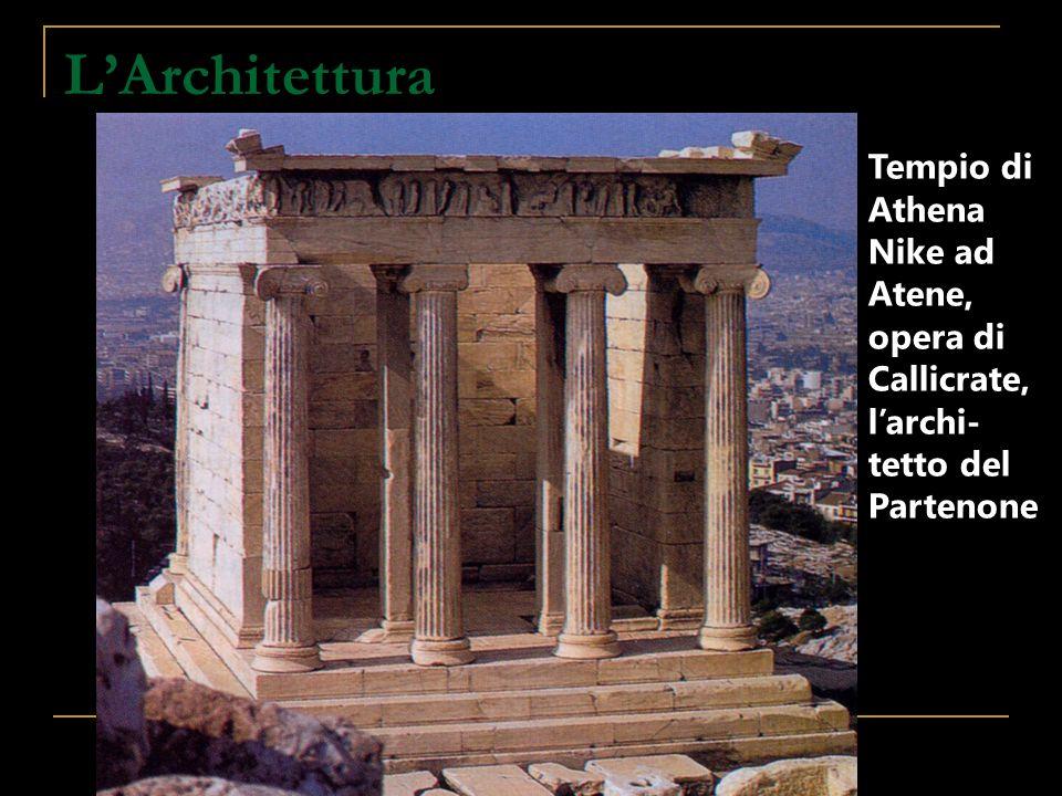 L'Architettura Tempio di Athena Nike ad
