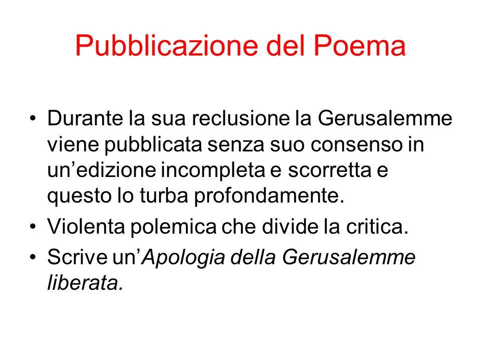 Pubblicazione del Poema