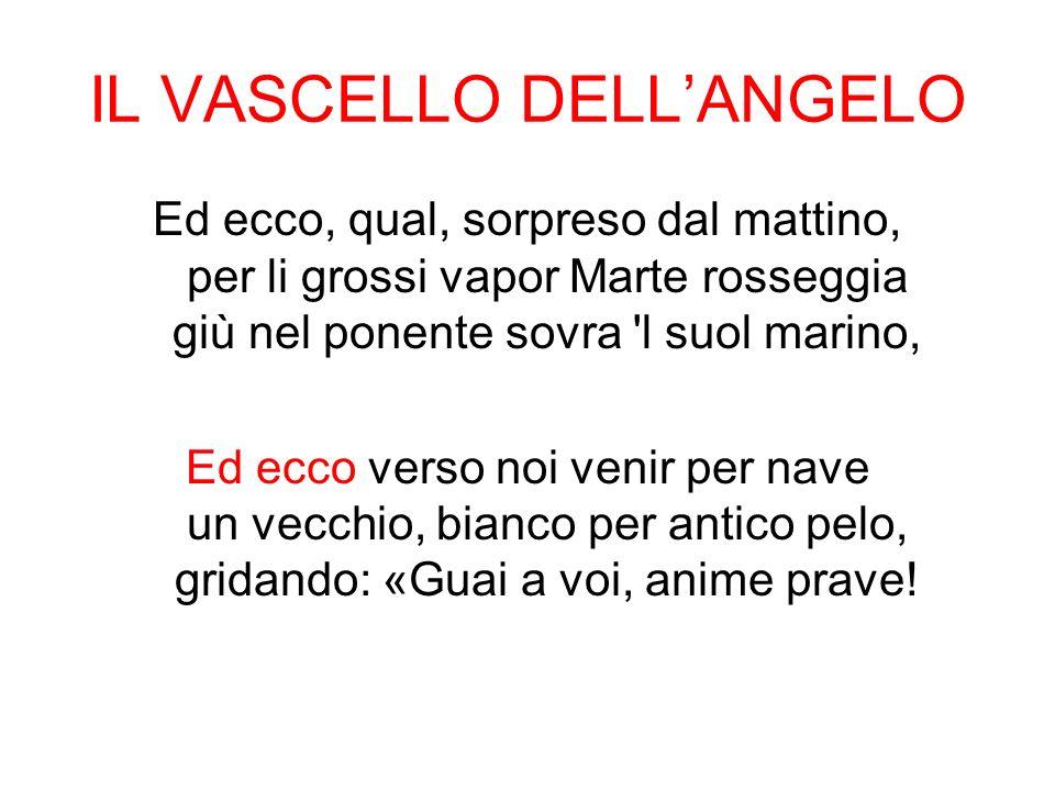 IL VASCELLO DELL'ANGELO
