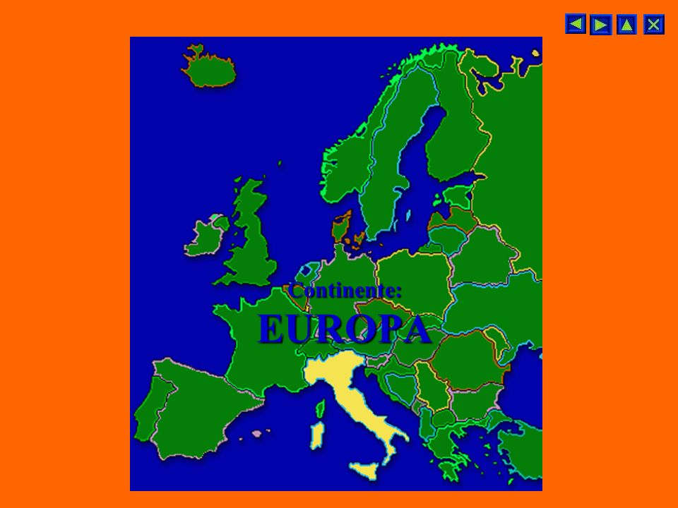 Continente: EUROPA