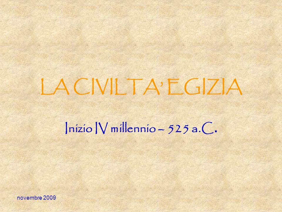 Inizio IV millennio – 525 a.C.