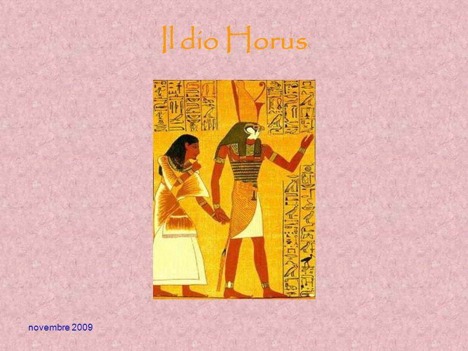 Il dio Horus novembre 2009