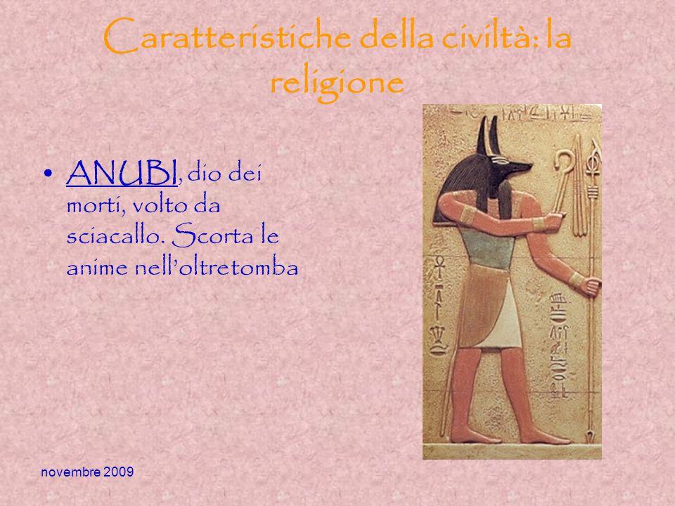 Caratteristiche della civiltà: la religione