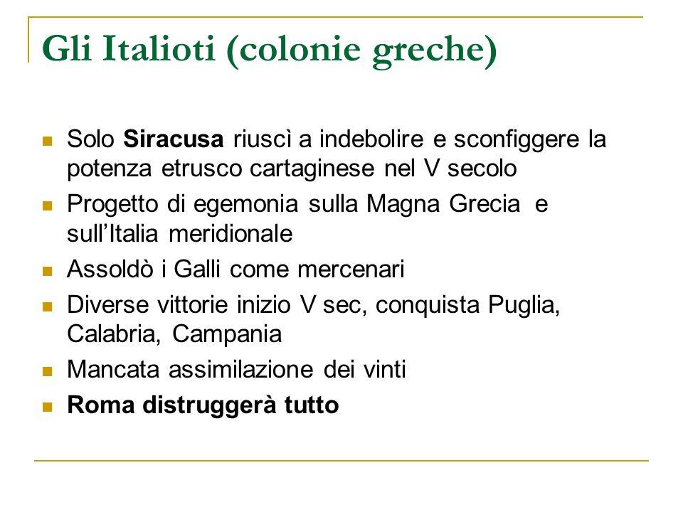 Gli Italioti (colonie greche)