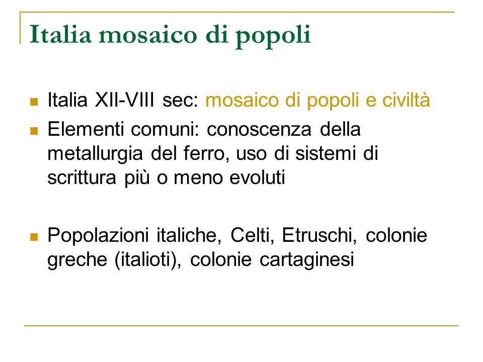 Italia mosaico di popoli