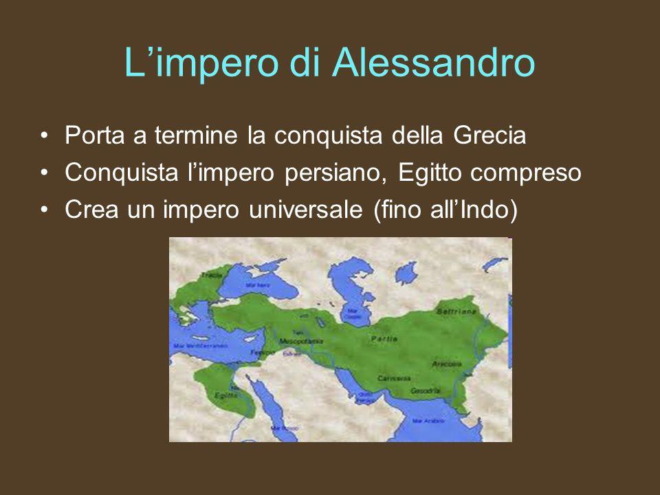 L'impero di Alessandro