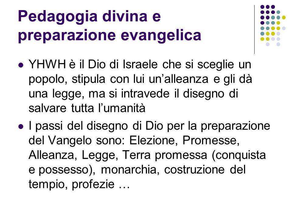 Pedagogia divina e preparazione evangelica