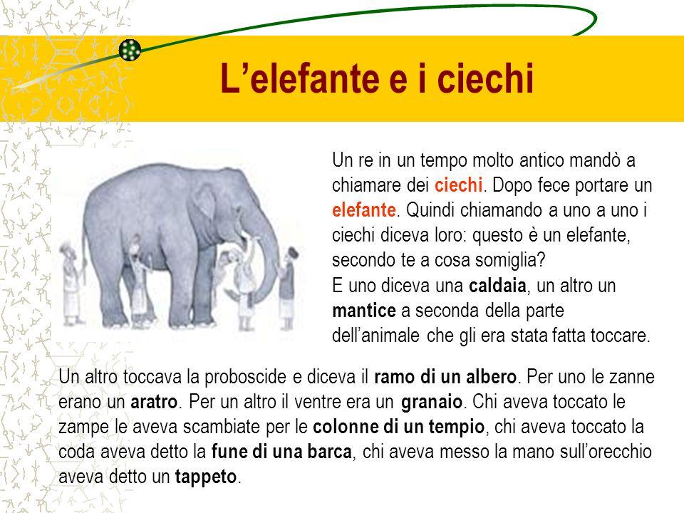 L'elefante e i ciechi