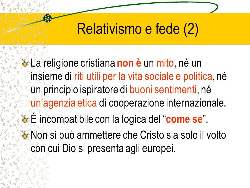 Relativismo e fede (2)