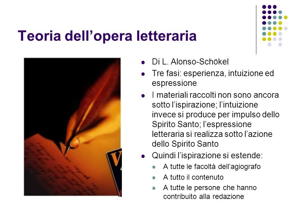 Teoria dell'opera letteraria