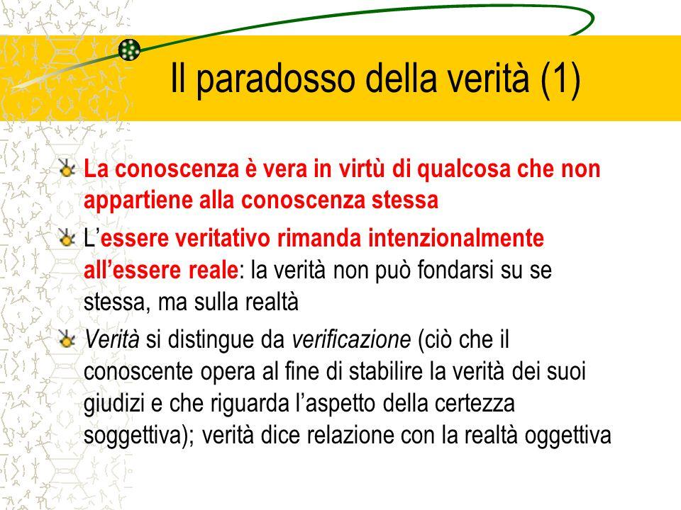 Il paradosso della verità (1)