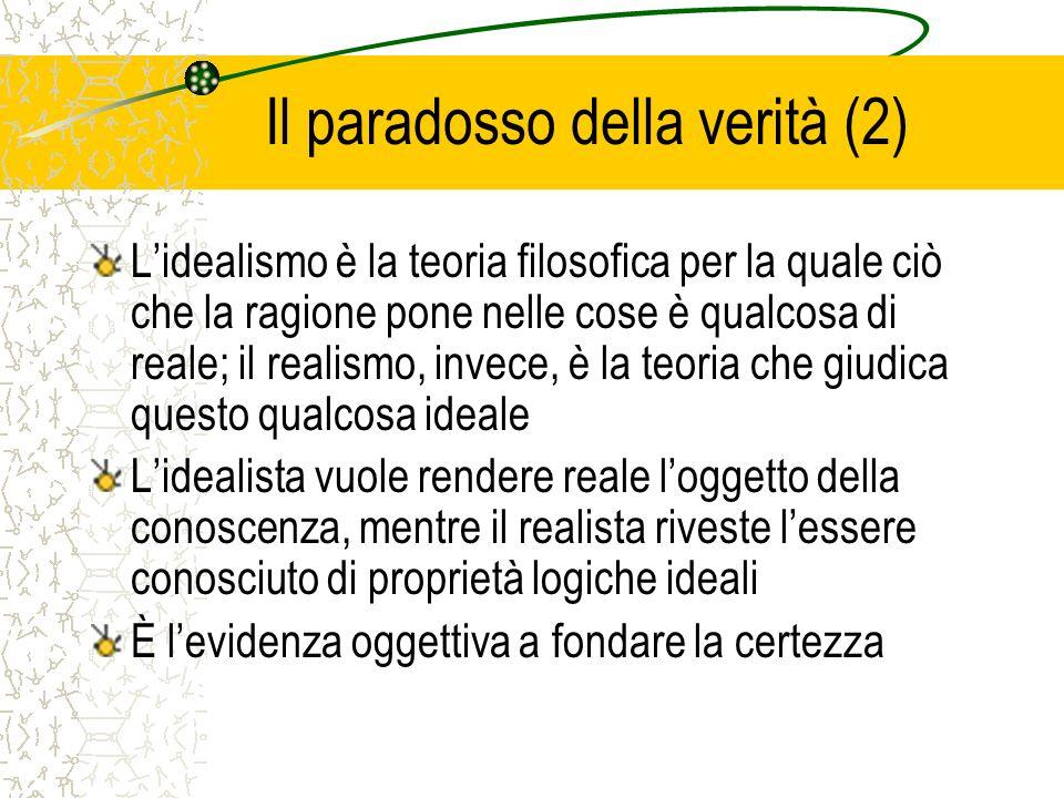 Il paradosso della verità (2)