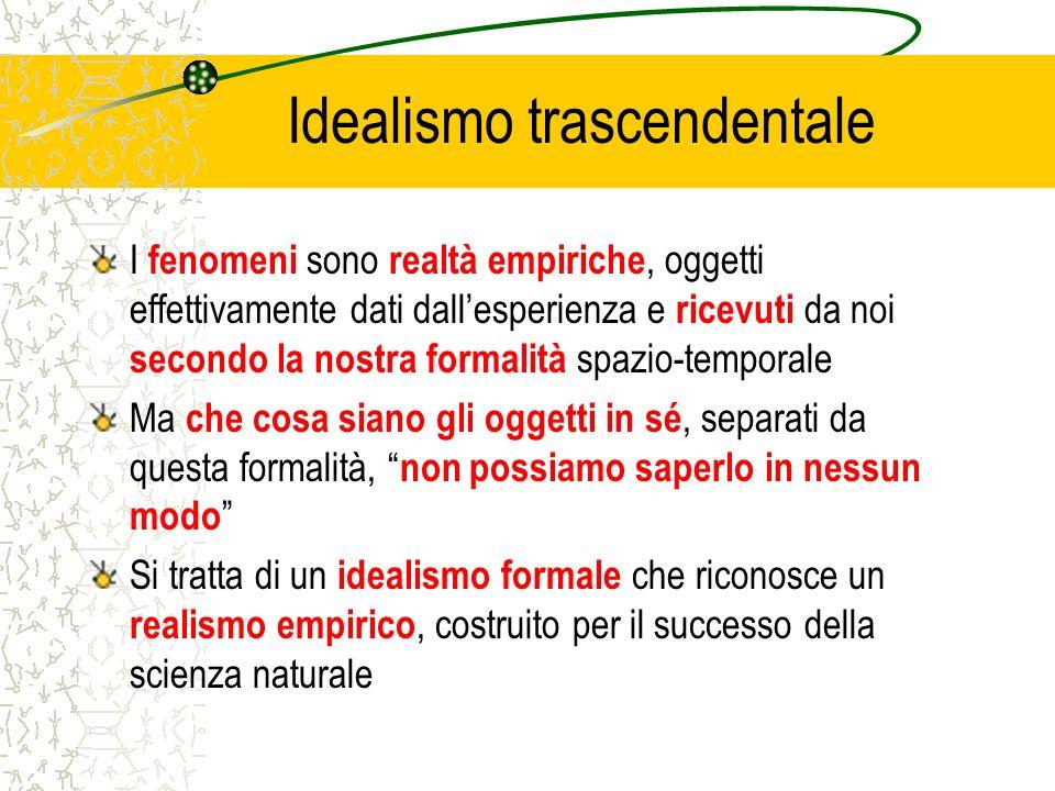 Idealismo trascendentale