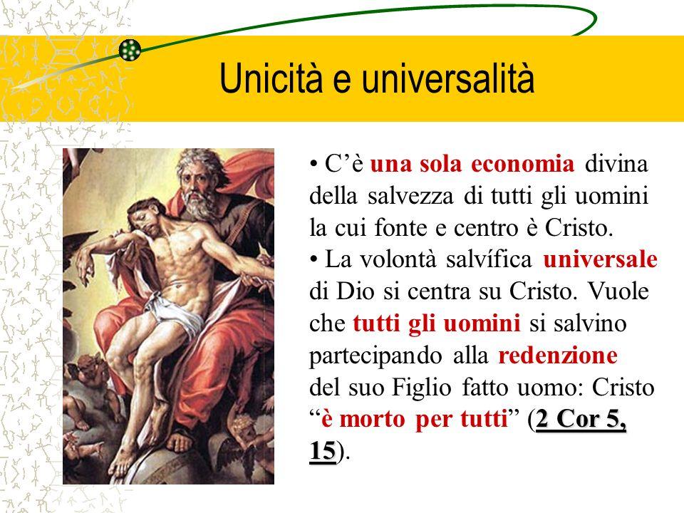 Unicità e universalità