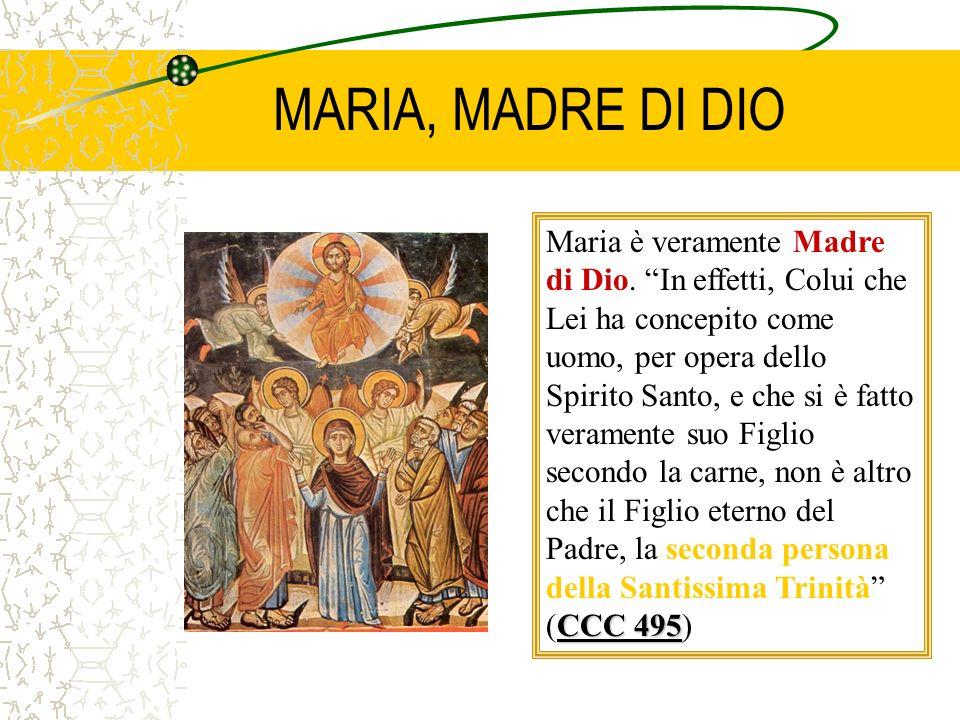 MARIA, MADRE DI DIO