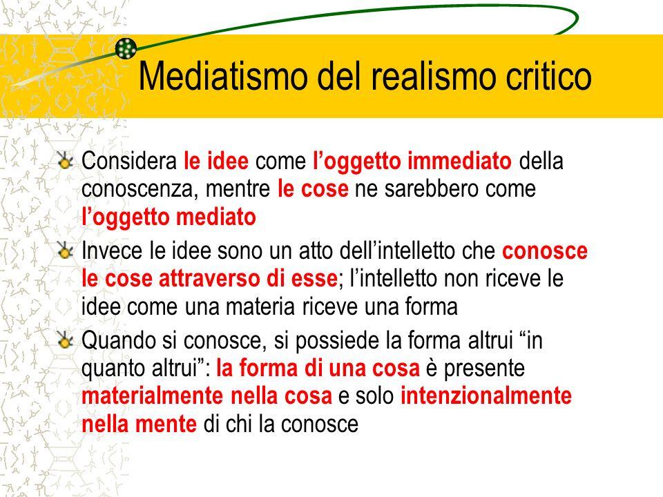 Mediatismo del realismo critico