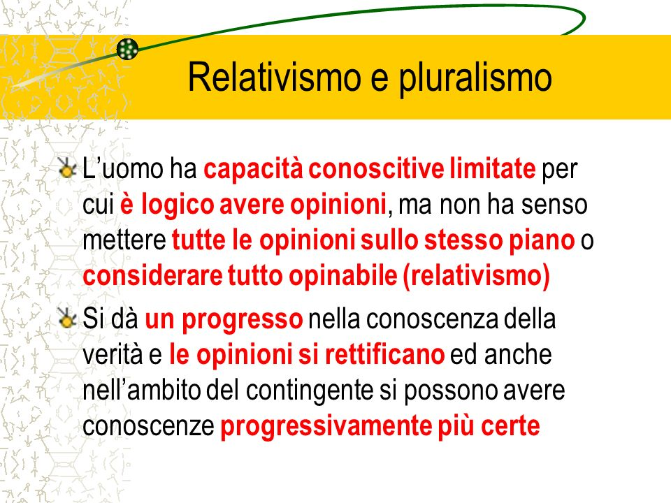 Relativismo e pluralismo