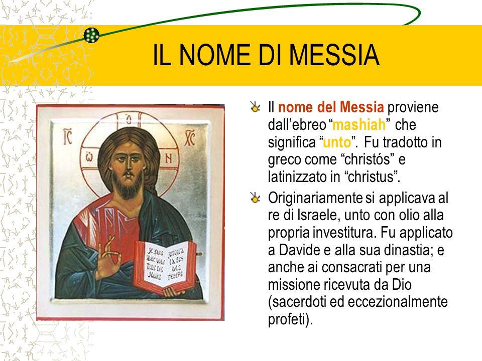 IL NOME DI MESSIA
