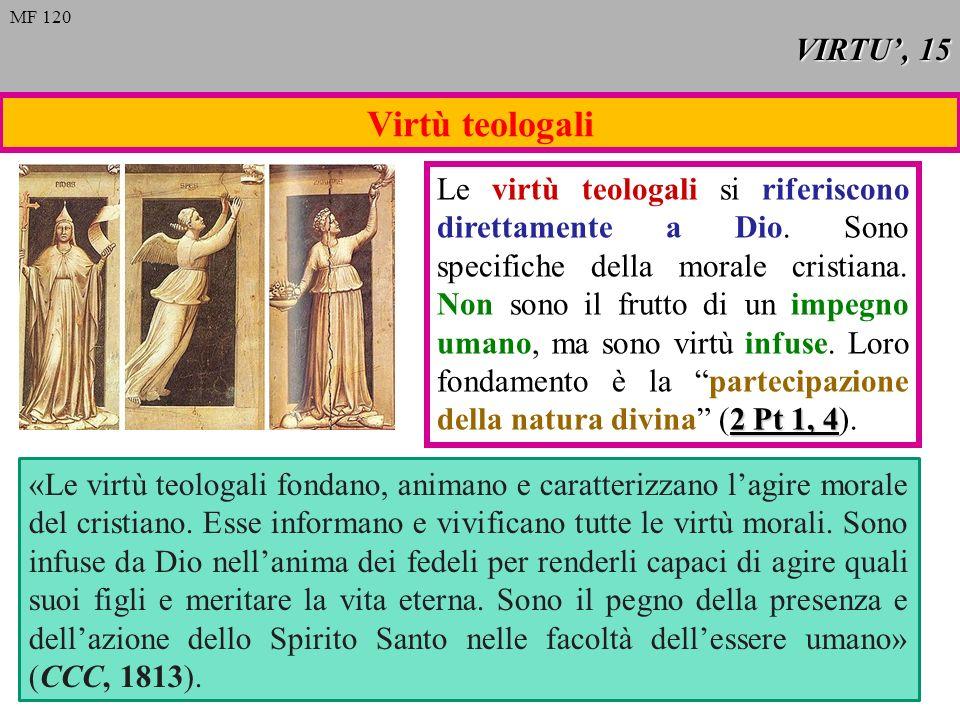 Virtù teologali VIRTU', 15