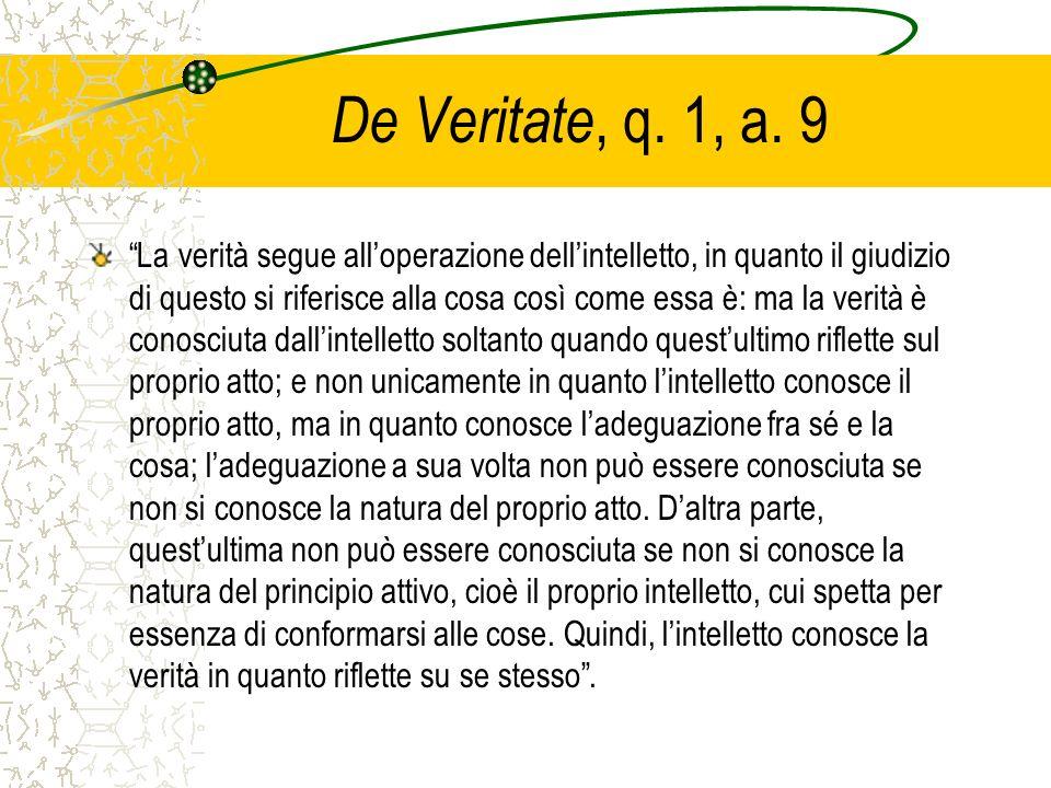 De Veritate, q. 1, a. 9