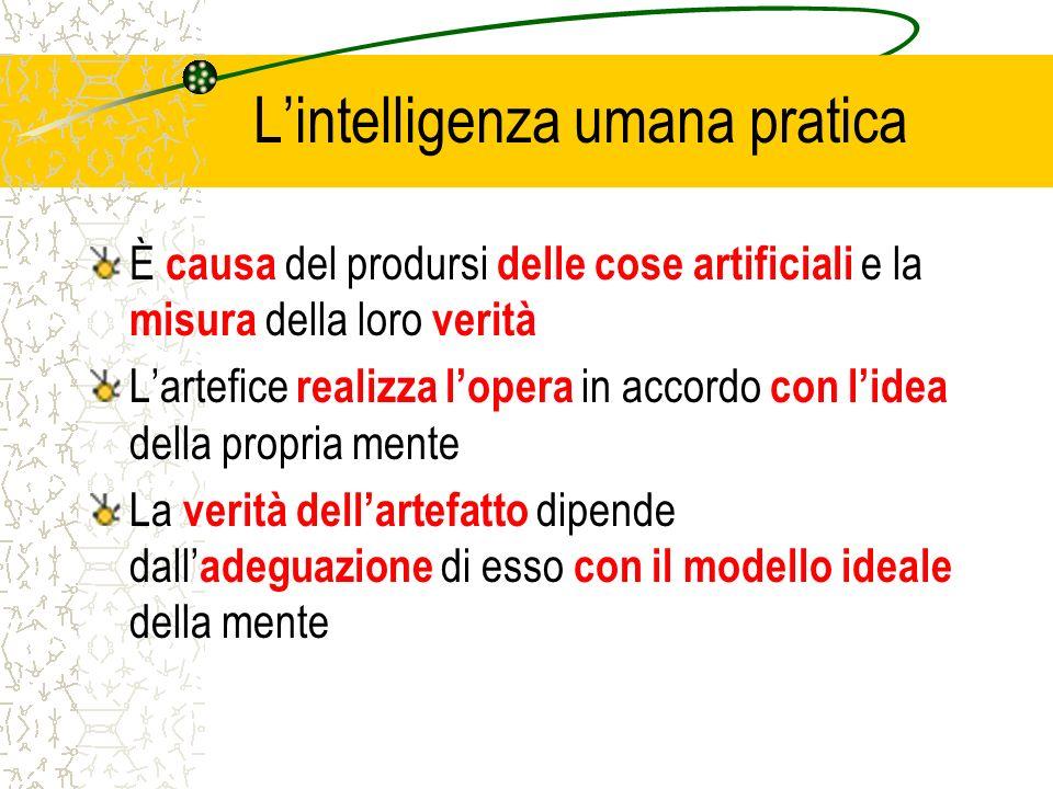 L'intelligenza umana pratica