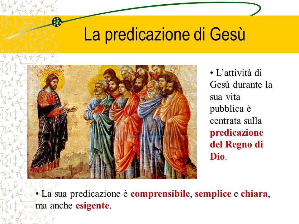La predicazione di Gesù