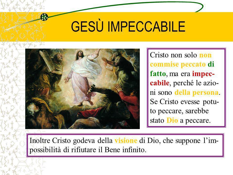 GESÙ IMPECCABILE