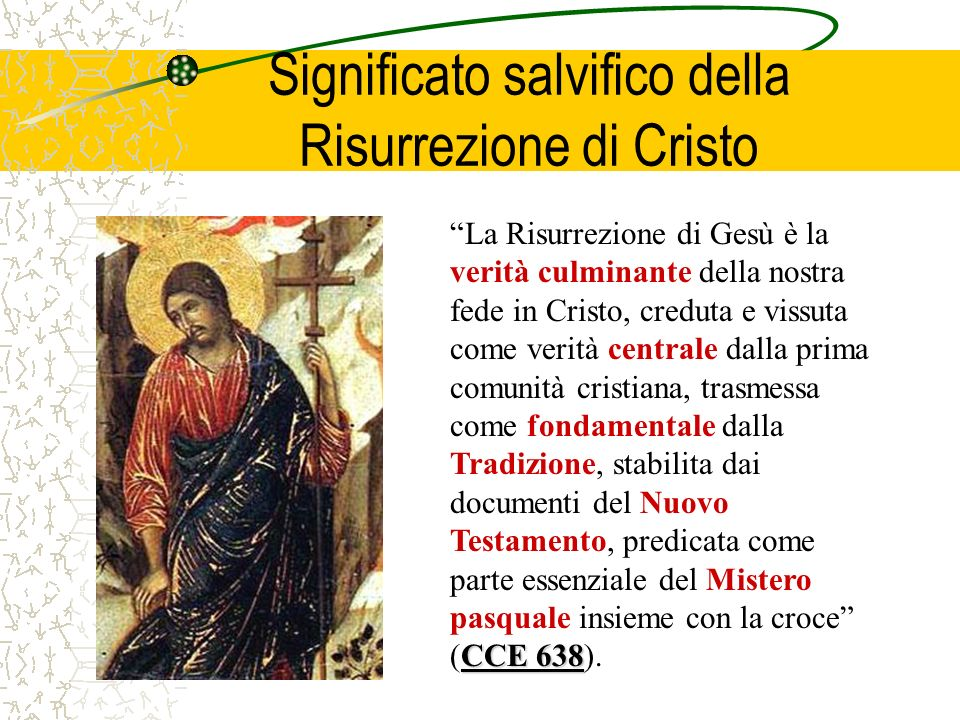 Significato salvifico della Risurrezione di Cristo
