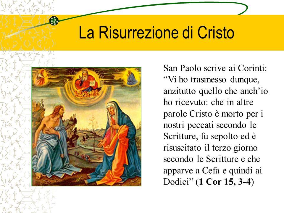La Risurrezione di Cristo
