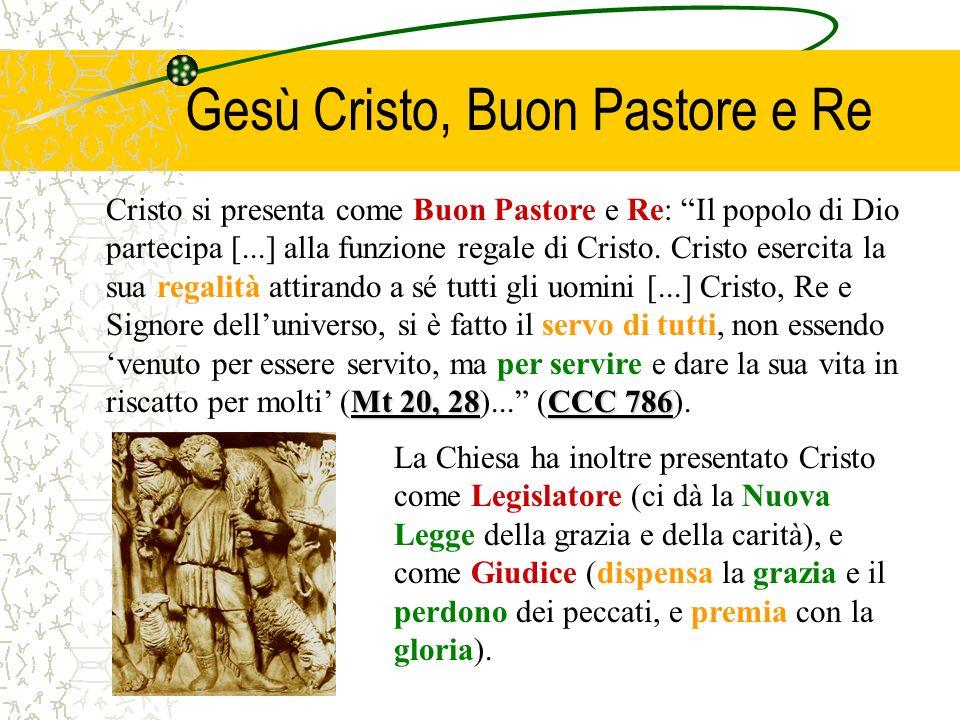Gesù Cristo, Buon Pastore e Re