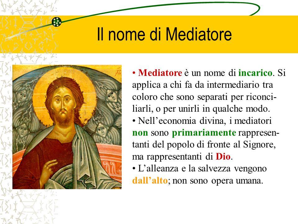 Il nome di Mediatore