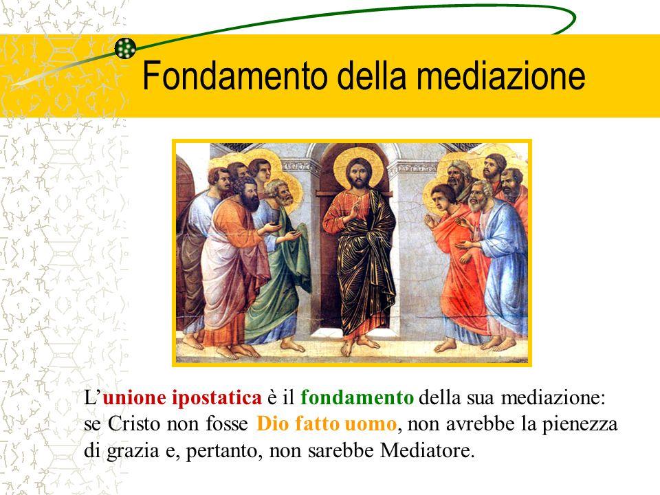 Fondamento della mediazione