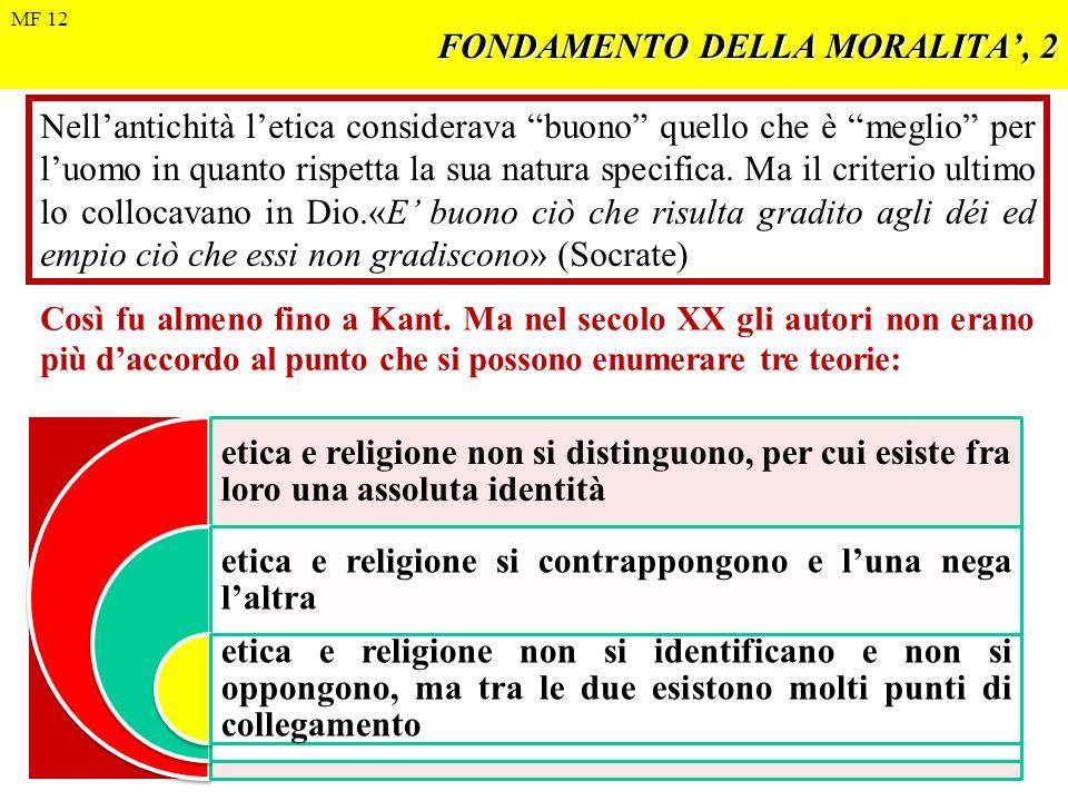 FONDAMENTO DELLA MORALITA', 2