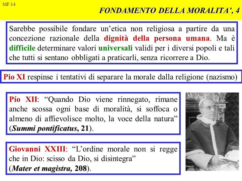 FONDAMENTO DELLA MORALITA', 4
