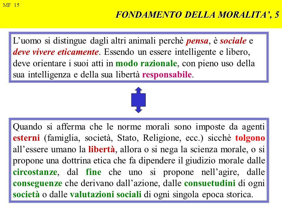 FONDAMENTO DELLA MORALITA', 5