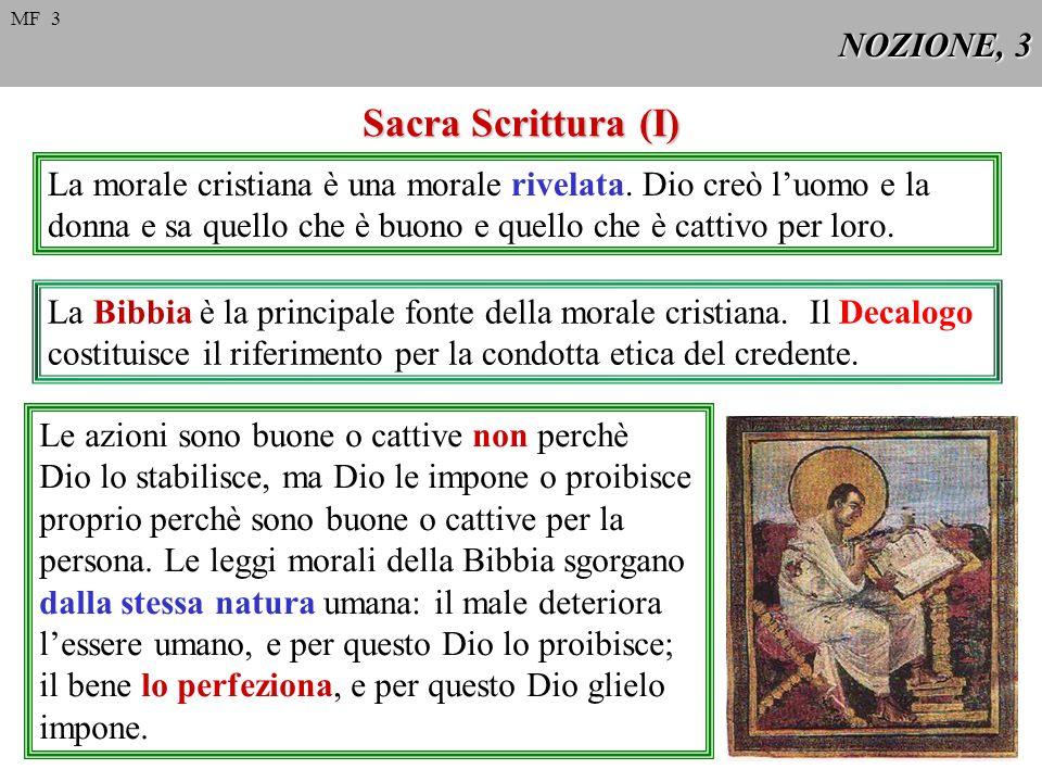 Sacra Scrittura (I) NOZIONE, 3