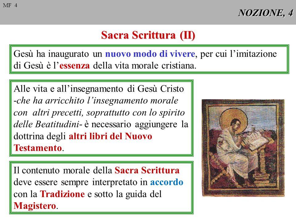 Sacra Scrittura (II) NOZIONE, 4