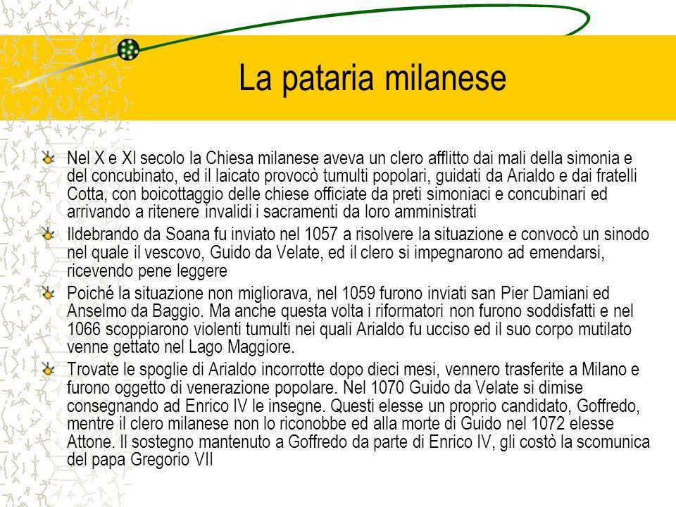 La pataria milanese