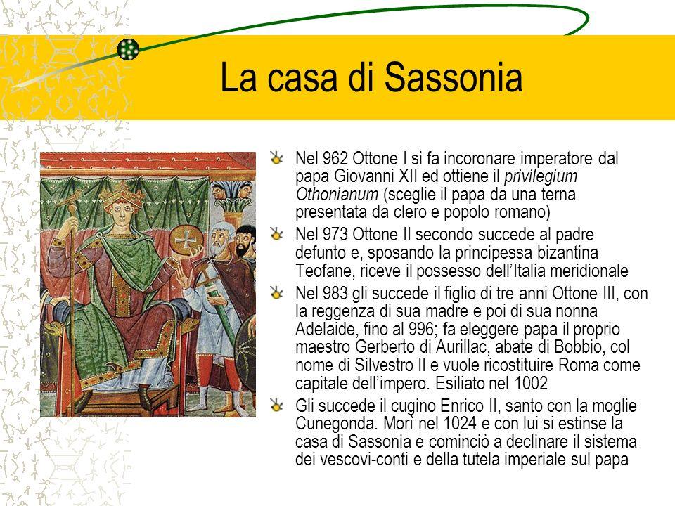 La casa di Sassonia