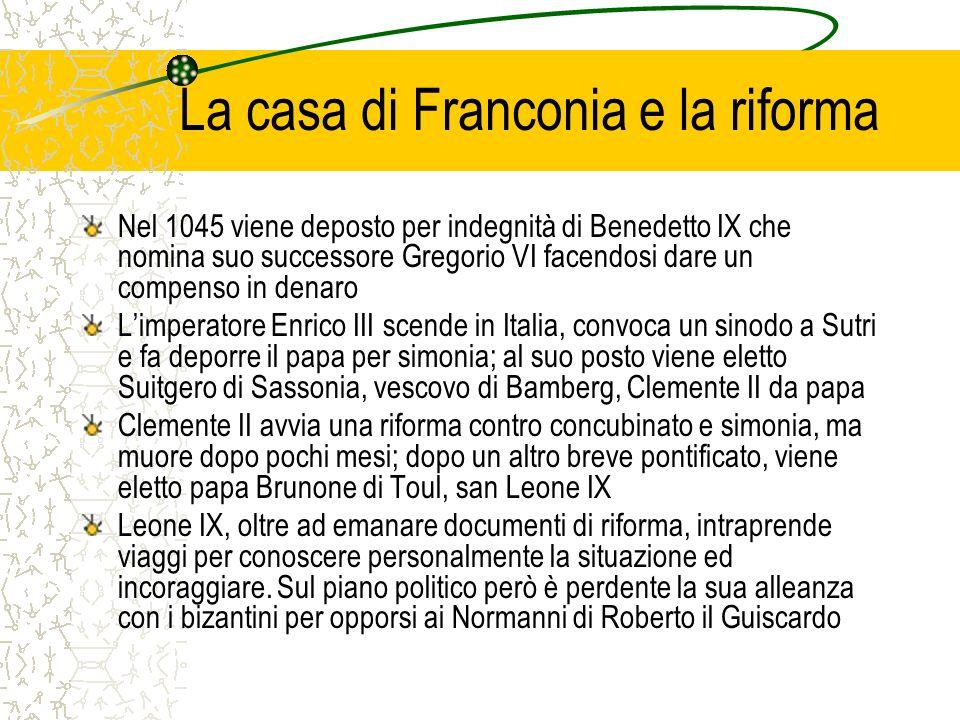 La casa di Franconia e la riforma
